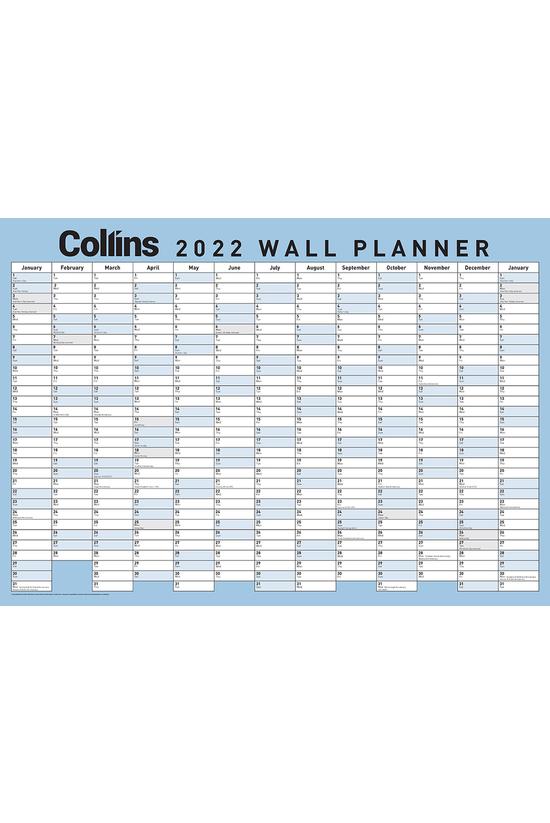 2022 Collins Wallplanner 700mm...