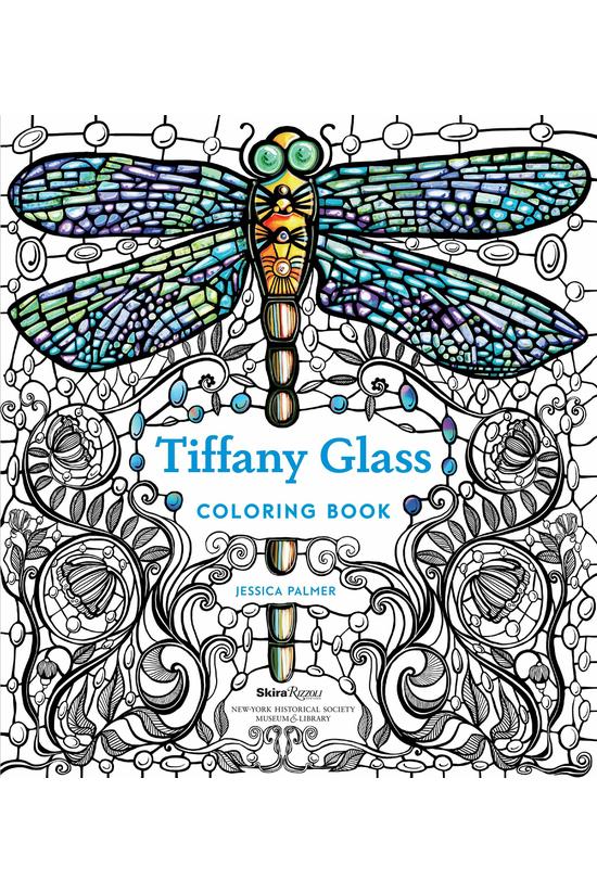 Tiffany Glass Colouring Book