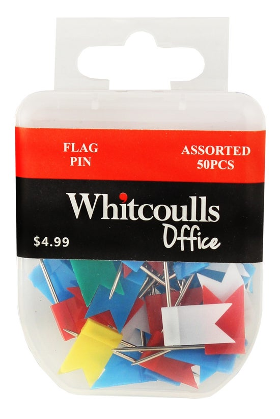 Whitcoulls Flag Pins Assorted ...