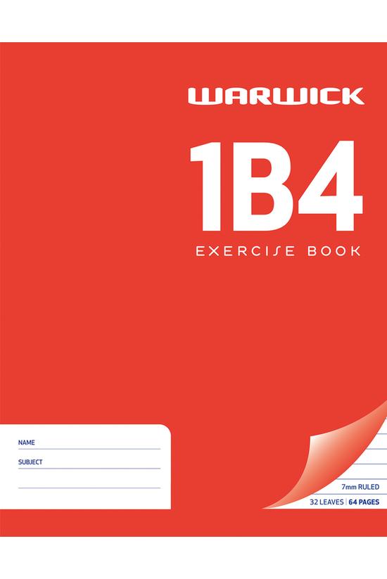 Warwick 1b4 Exercise Book 230 ...