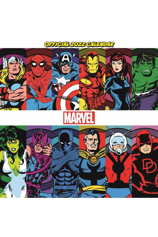 2022 Wall Calendar Marvel Comi...