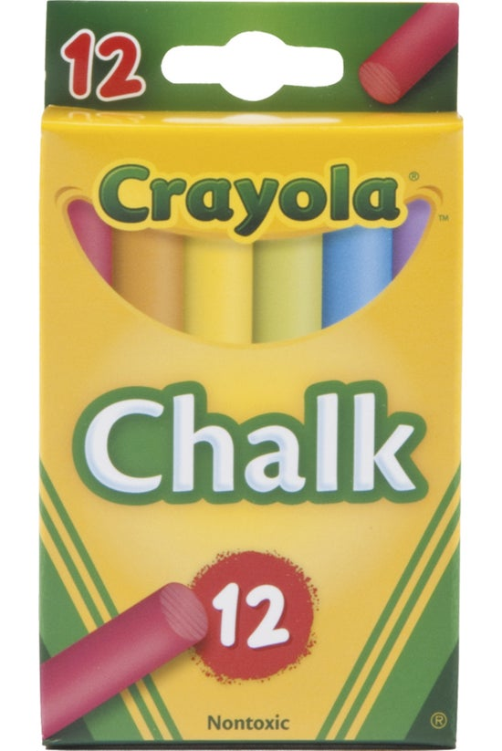 Crayola Chalk Coloured Pack Of...