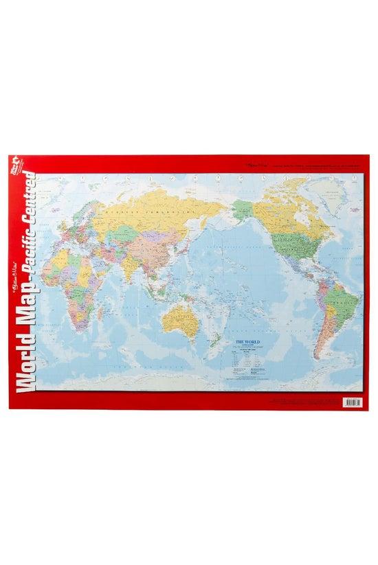 Gillian Miles World Map Double...