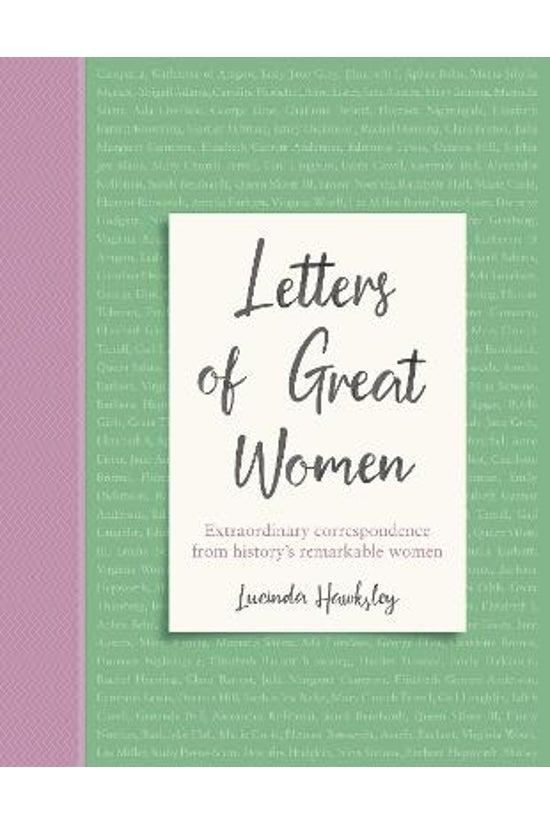 Letters Of Great Women