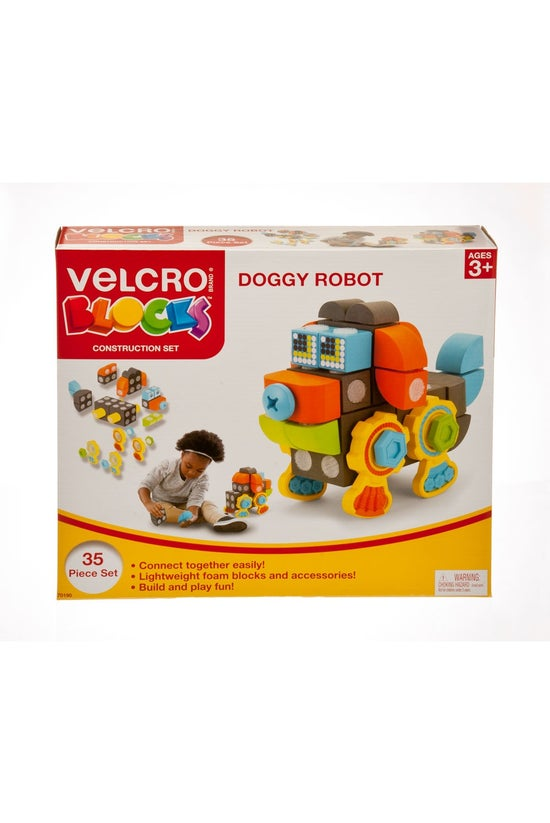 Velcro Blocks Doggy Robot