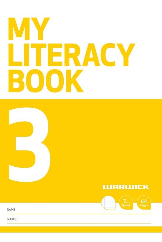Warwick My Literacy Book 3 7mm...