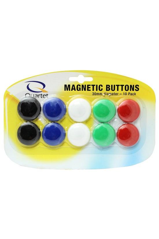 Quartet Magnetic Buttons 30mm ...
