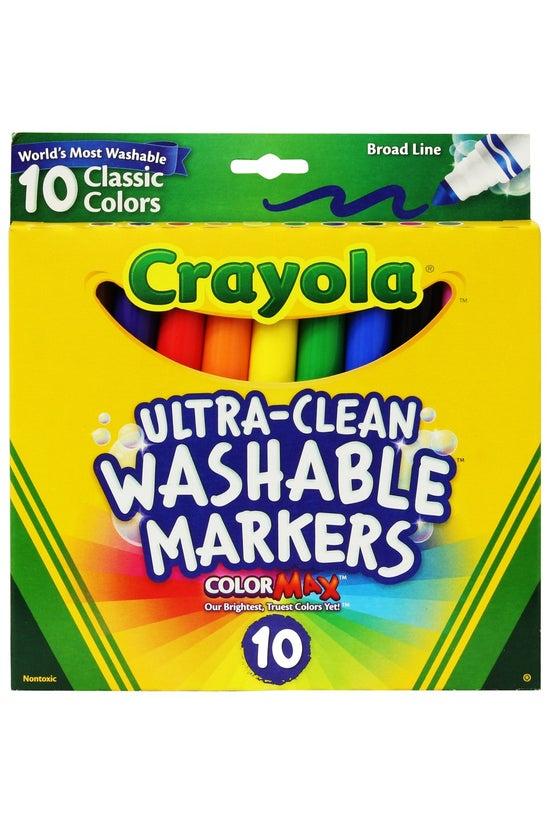 Crayola Classic Broad Line Was...