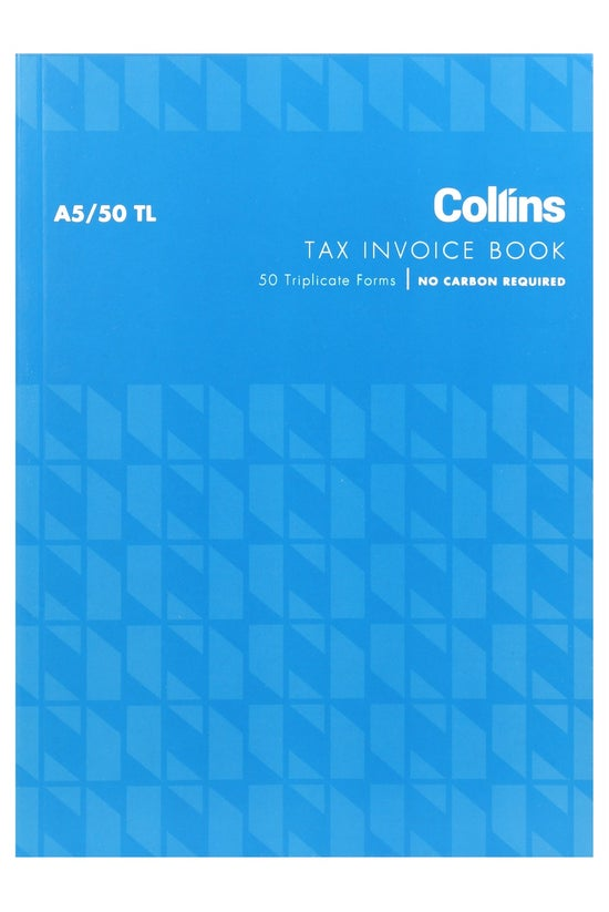 Collins Tax Invoice A5 Tl 50 L...