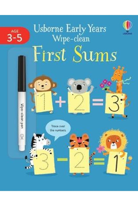 Early Years Wipe-clean First S...