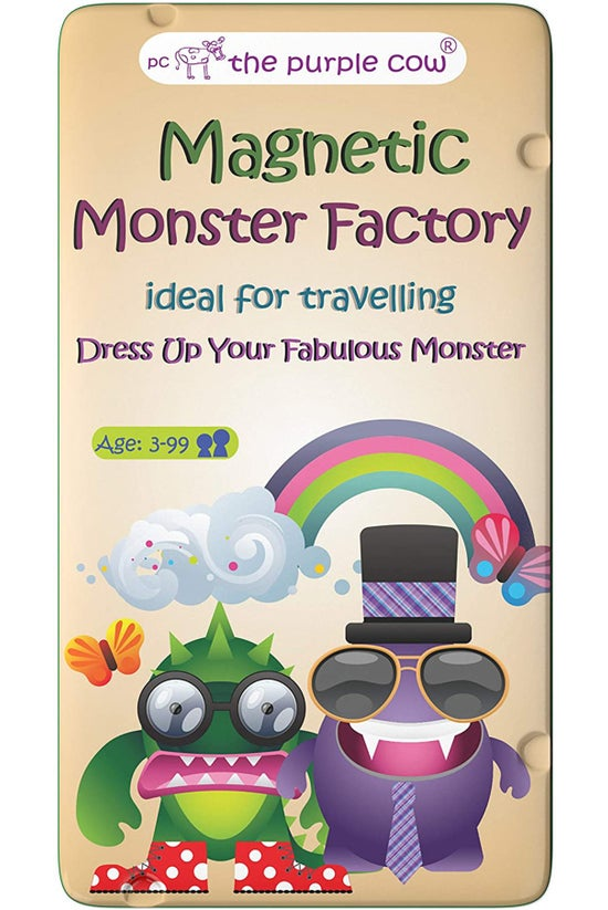 Purple Cow Magnetic Monster Fa...