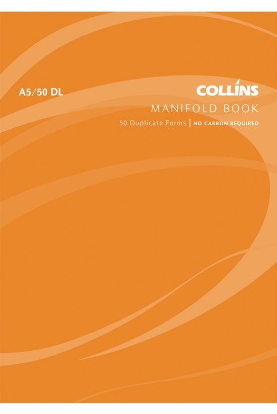 Collins Manifold Book A5dl Ncr...