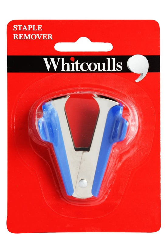 Whitcoulls Blue Staple Remover