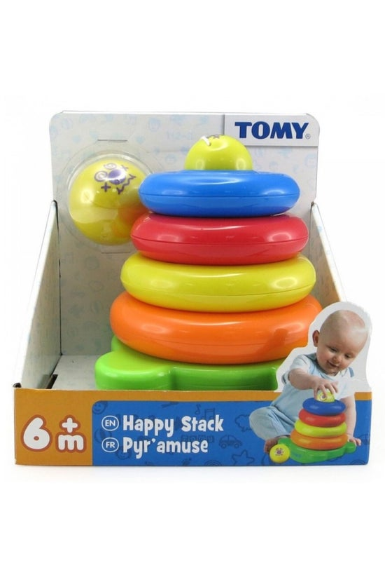 Tomy Preschool Happy Stack Sta...