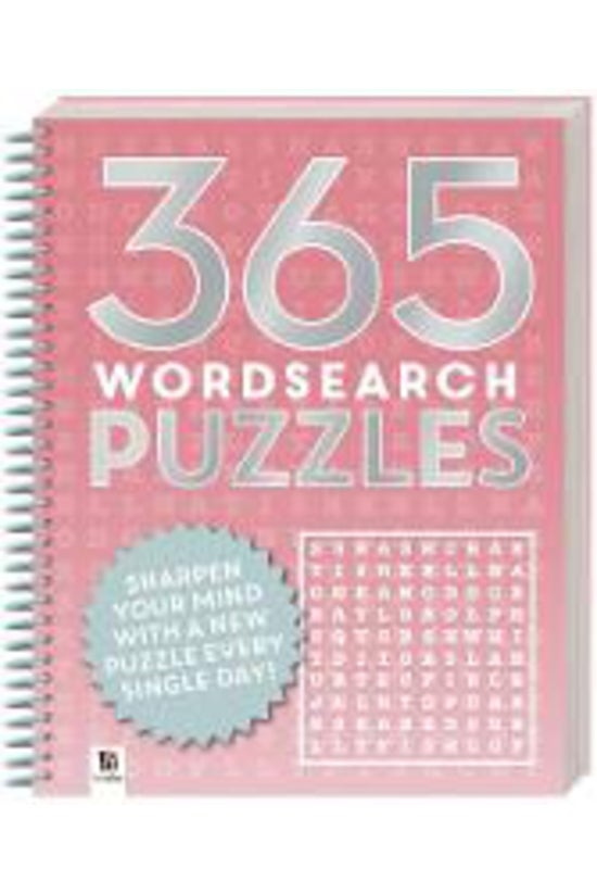 365 Puzzles: Word Search (2019...