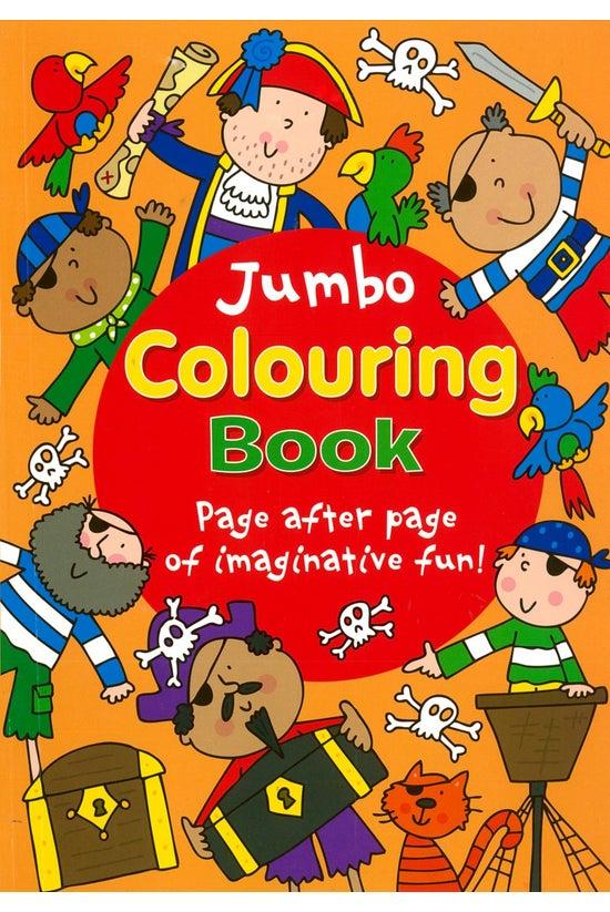 Jumbo Colouring Book Orange