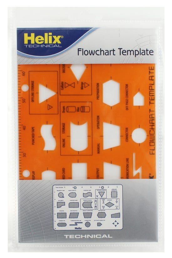 Helix Template Flowchart Stenc...