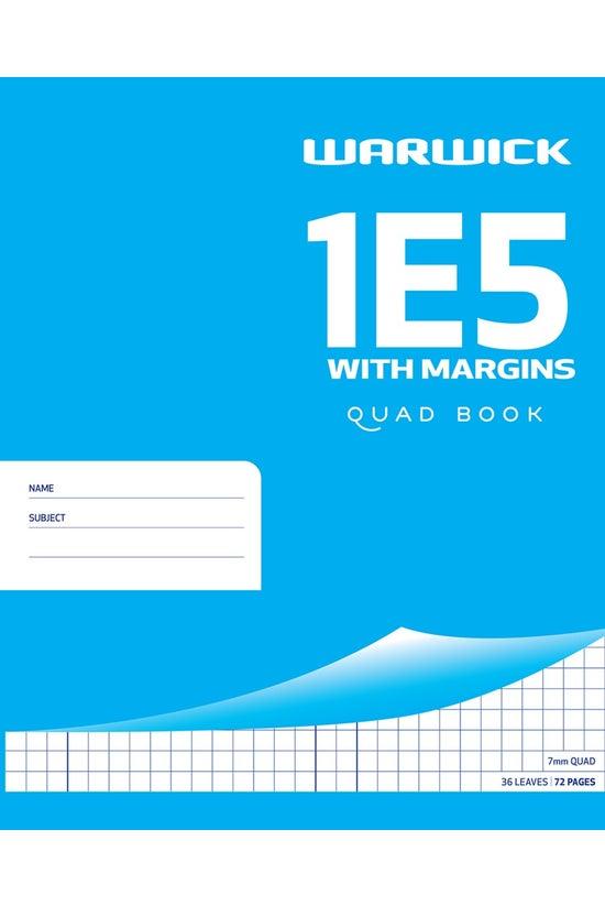 Warwick 1e5 Quad Book With Mar...