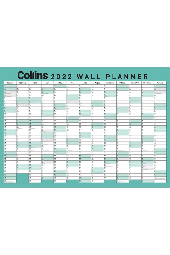2022 Collins Wallplanner A2
