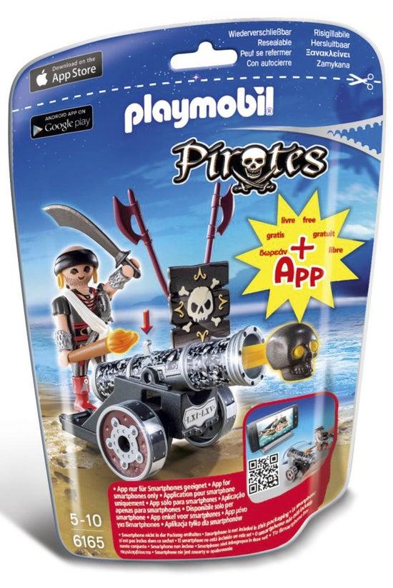 Playmobil Pirates Black Cannon...