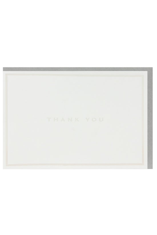 Whsmith Thank You Cards Silver...