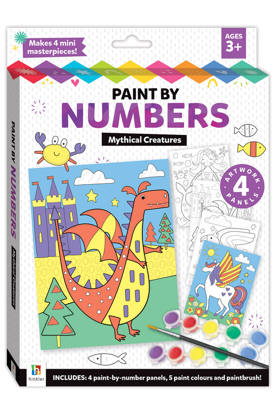 Paint By Numbers: Mythical Cre...