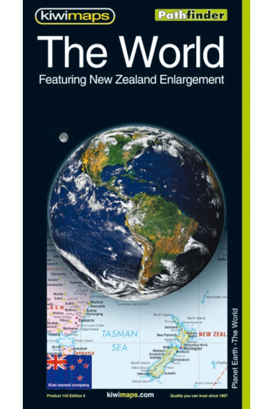The World With New Zealand Enl...