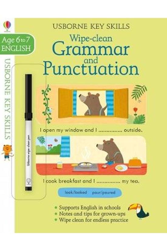 Wipe-clean Grammar & Punct...