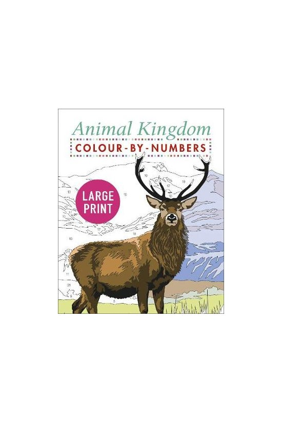 Large Print Animal Kingdom Col...