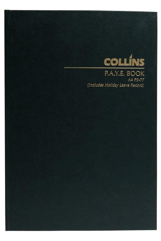Collins Wage Book A4 P9-77, 12...