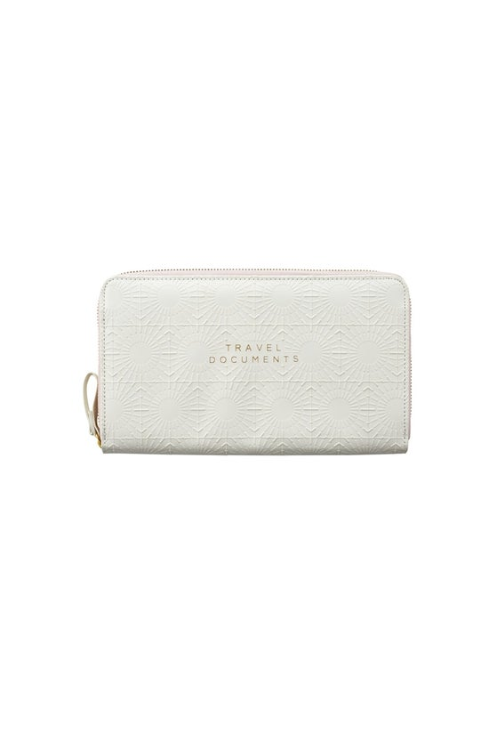 Noted Grace Travel Wallet Whit...