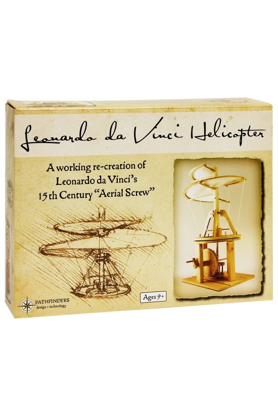 Leonardo Da Vinci Helicopter W...