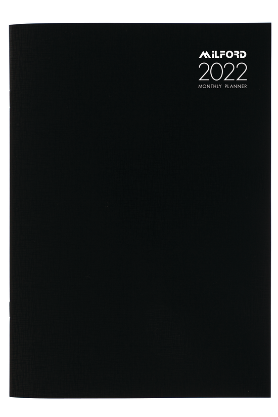 2022 Milford Monthly Planner A...