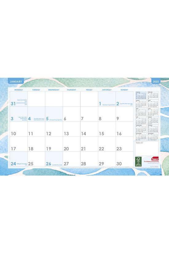 2022 Cal Sasco Desk Pad Plan 4...