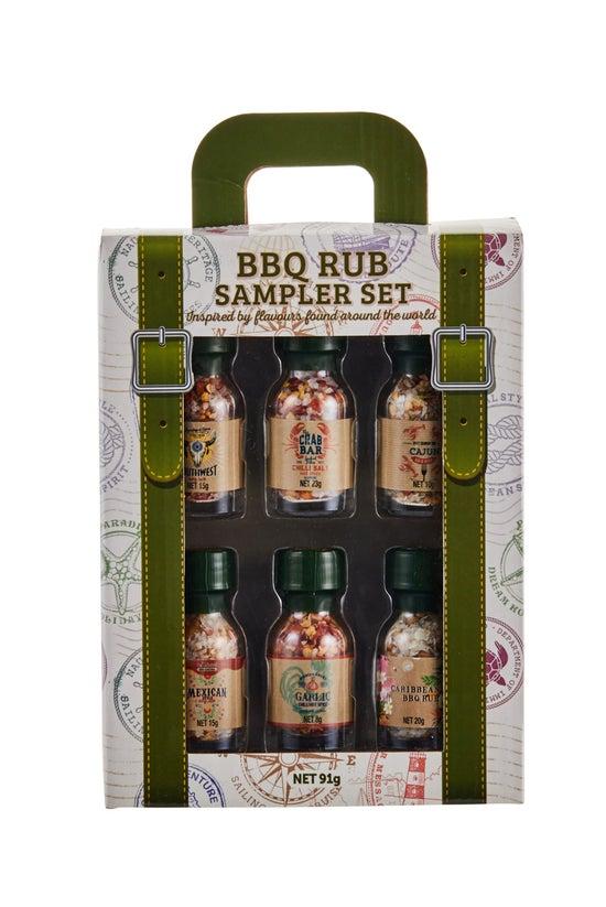 Bbq Rub Sampler Set Pack Of 6 ...