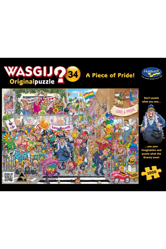 Wasgij Original #34: A Piece O...