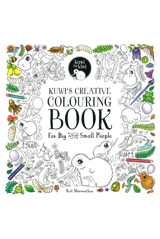 Kuwi's Creative Colouring Book...