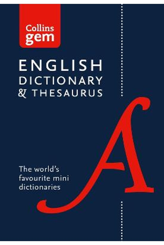 English Gem Dictionary And The...