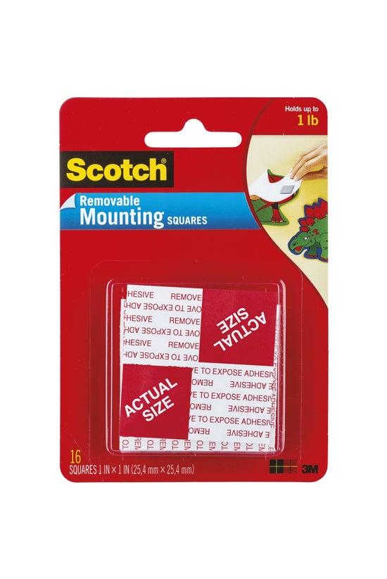 Scotch Mounting Squares Remova...