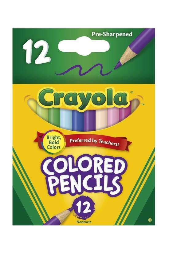 Crayola Coloured Pencils Half ...