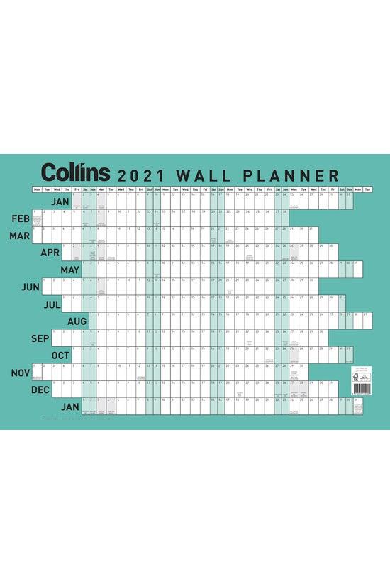 2021 Collins Wallplanner A2 La...