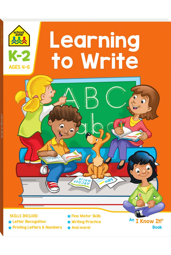 School Zone: Learning To Write
