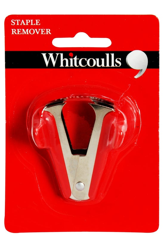 Whitcoulls Red Staple Remover