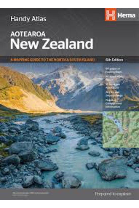 New Zealand Handy Atlas Np: 20...