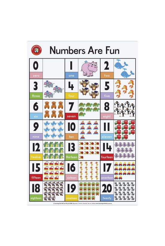 Learning Can Be Fun: Numbers A...