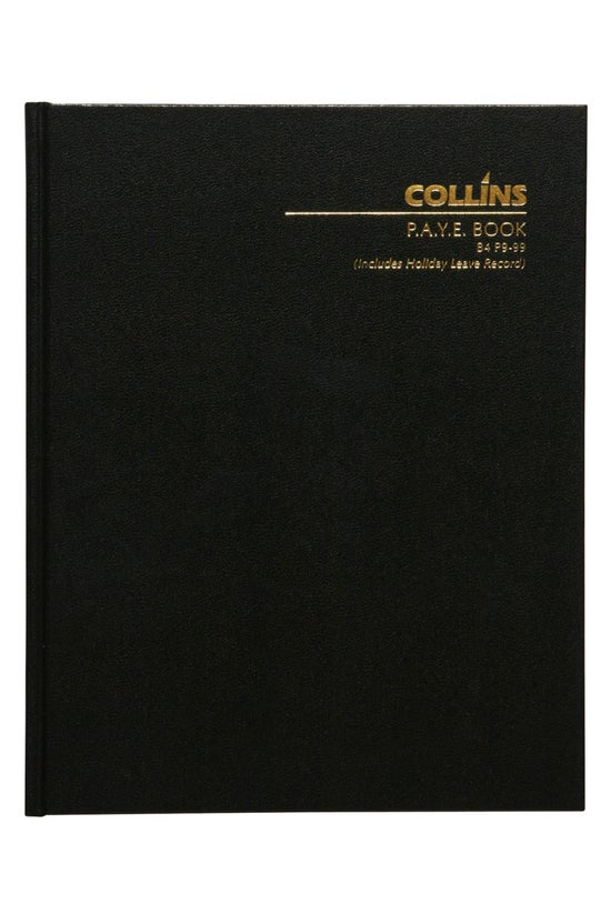 Collins Wage Book B4 P9-99 112...