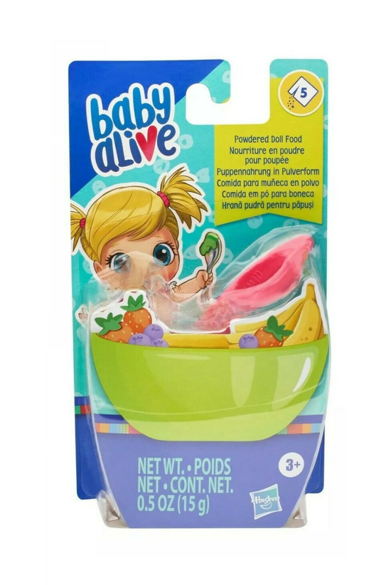 Baby Alive: Powdered Doll Food