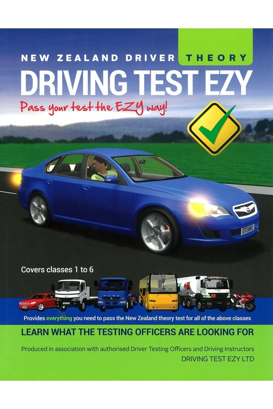 Nz Driving Test Ezy: Theory