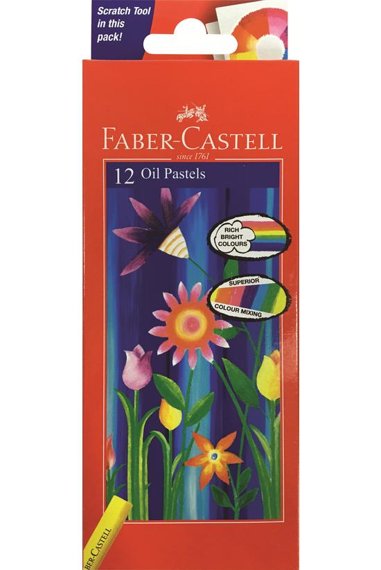 Faber Castell Oil Pastels Pack...