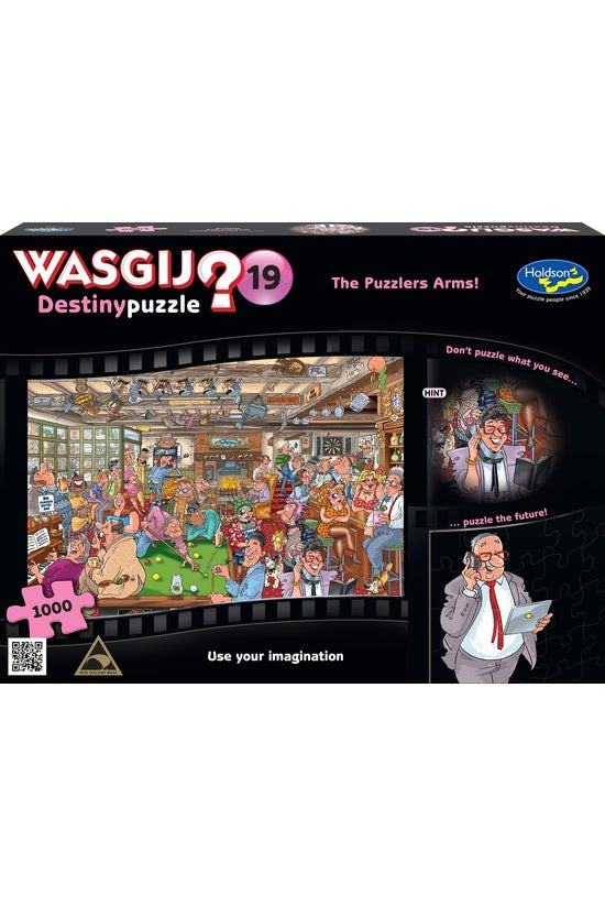 Wasgij Destiny #19: The Puzzle...